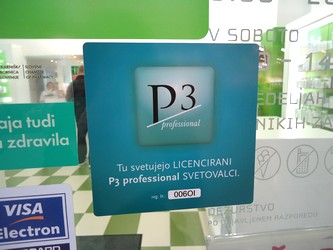 p3 licenciranje
